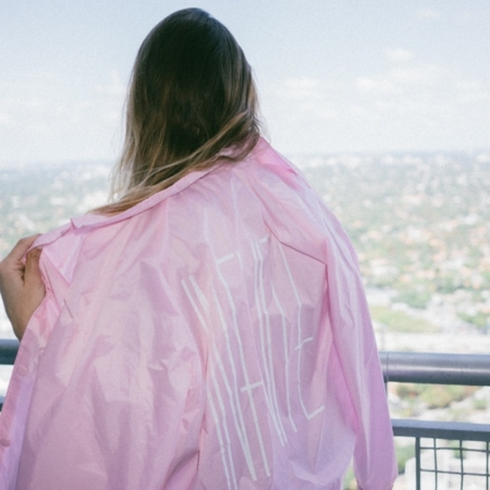 PINK SAND COACH JACKET